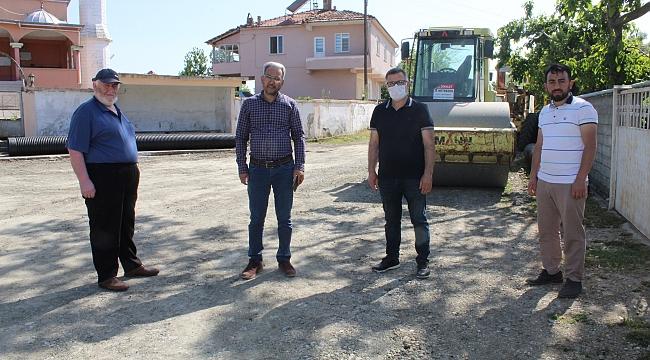 Bafra'da sıcak asfalt talebi