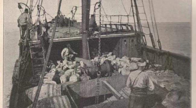 Bandırma Vapuru'nun bilinen tek fotoğrafı