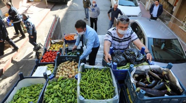 Bozuk sebzelerin satışına geçit yok