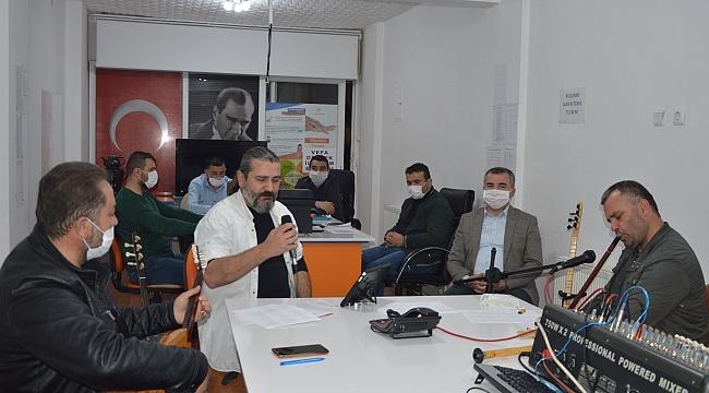 Havza'da vefa sosyal destek birimine moral konseri