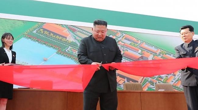 Kim Jong-un kendini gösterdi