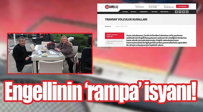 Engellinin 'rampa' isyanı!