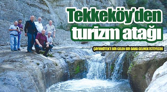 Tekkeköy'den turizm atağı