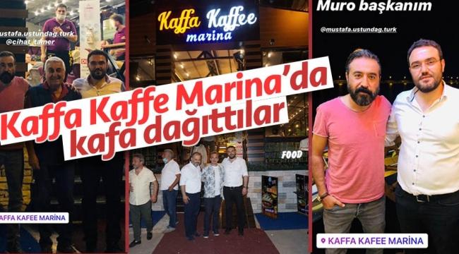 Canım Dayım filmi ekibiKaffa Kaffe Marina'da kafa dağıttı