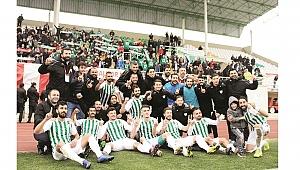 Çarşambaspor'da 8 yıllık hasret bitti