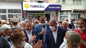 CHP, Ladik'te 'Hayır Çarşısı' açtı