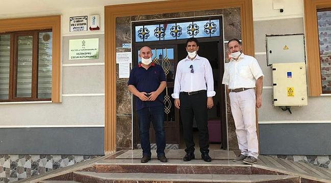Kütüphaneler Genel MüdürüVezirköprü'yü ziyaret etti