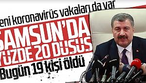 Sağlık Bakanı açıkladı: Samsun'da yüzde 20 düşüş var