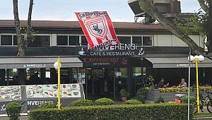 Şampiyonluk bayrağıSağlam'ın kafesinde