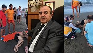 Samsun'da haftasonu 34 kişi boğulmaktan kurtarıldı