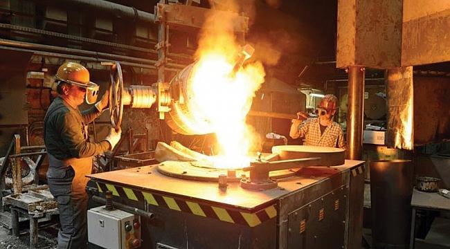 Sanayi üretimi yüzde 19,9 azaldı