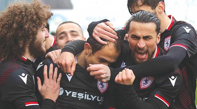 TFF 1. Lig'in kralı Samsunspor