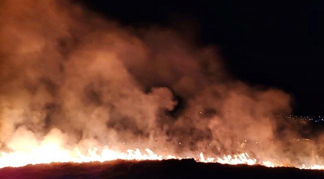 4 noktada çıkan yangın söndürüldü