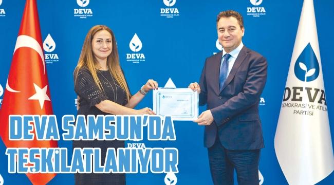 DEVA Samsun'dateşkilatlanıyor