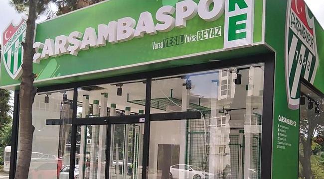 Çarşambaspor Store bugün açılıyor