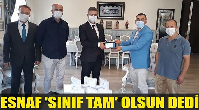 ESNAF 'SINIF TAM' OLSUN DEDİ