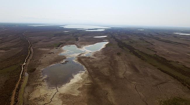 Kızılırmak Deltası'nda kuraklık tehdidi