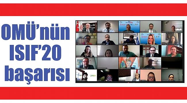 OMÜ'nün ISIF'20 başarısı