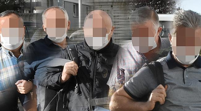 17 eski polis gözaltında
