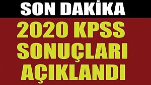 2020 KPSS SONUÇLARI AÇIKLANDI !