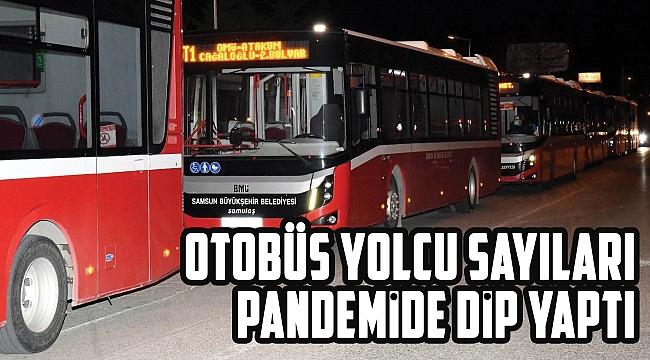 OTOBÜS YOLCU SAYILARI PANDEMİDE DİP YAPTI