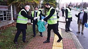 Doğa için çöp topladılar