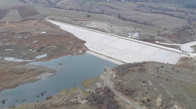Fındıcak Barajı tamamlandı
