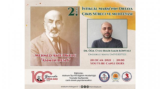 Mehmed Akif için anlamlı proje
