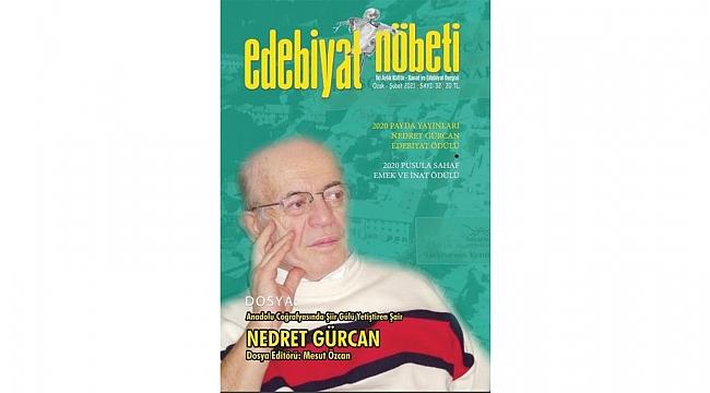 Efsane şair GürcanEdebiyat Nöbeti'nde