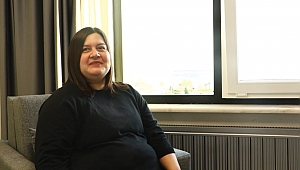 İNGİLTERE'DEN SAMSUN'A GELEREK YENİ HAYATINA 'MERHABA' DEDİ