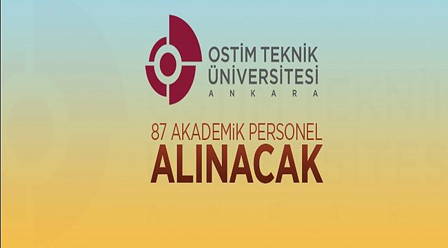OSTİM Teknik Üniversitesi Rektörlüğünden: