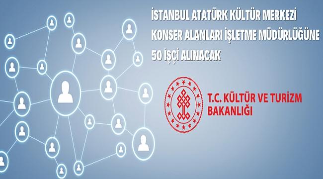 T.C. KÜLTÜR VE TURİZM BAKANLIĞI Döner Sermaye İşletmesi Merkez Müdürlüğü (İstanbul Atatürk Kültür Merkezi Konser Alanları İşletme Müdürlüğü)