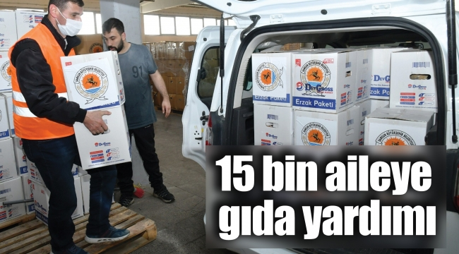 15 bin aileye gıda yardımı