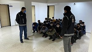 25 kaçak göçmen yakalandı