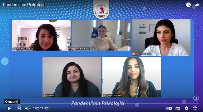 Pandeminin Psikolojisi semineri