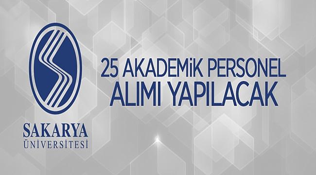 Sakarya Üniversitesi Rektörlüğünden: