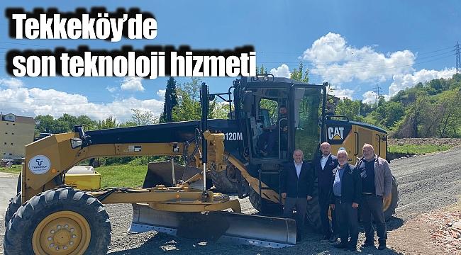 Tekkeköy'de sonteknoloji hizmeti