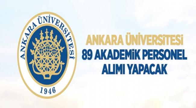 Ankara Üniversitesi Rektörlüğünden: