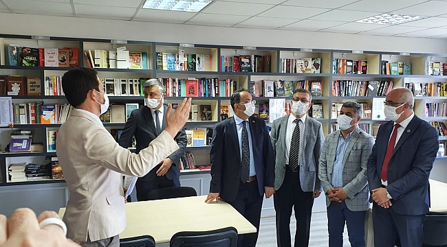 Bafra'da kütüphane yenilendi