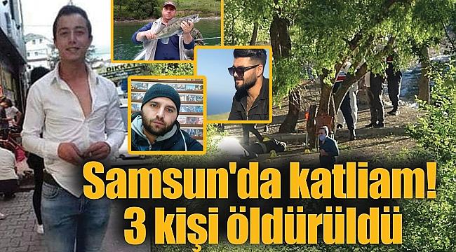 Samsun'da katliam! 3 kişi öldürüldü