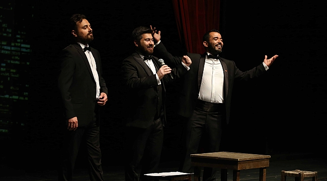 Üç Tenor tekrar sahnede