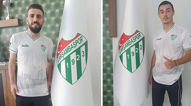 Çarşambaspor'dançifte transfer