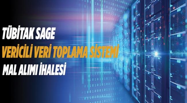 TÜRKİYE BİLİMSEL VE TEKNOLOJİK ARAŞTIRMA KURUMU SAVUNMA SANAYİİ ARAŞTIRMA GELİŞTİRME ENSTİTÜSÜ Vericili Veri Toplama Sistemi Alımı