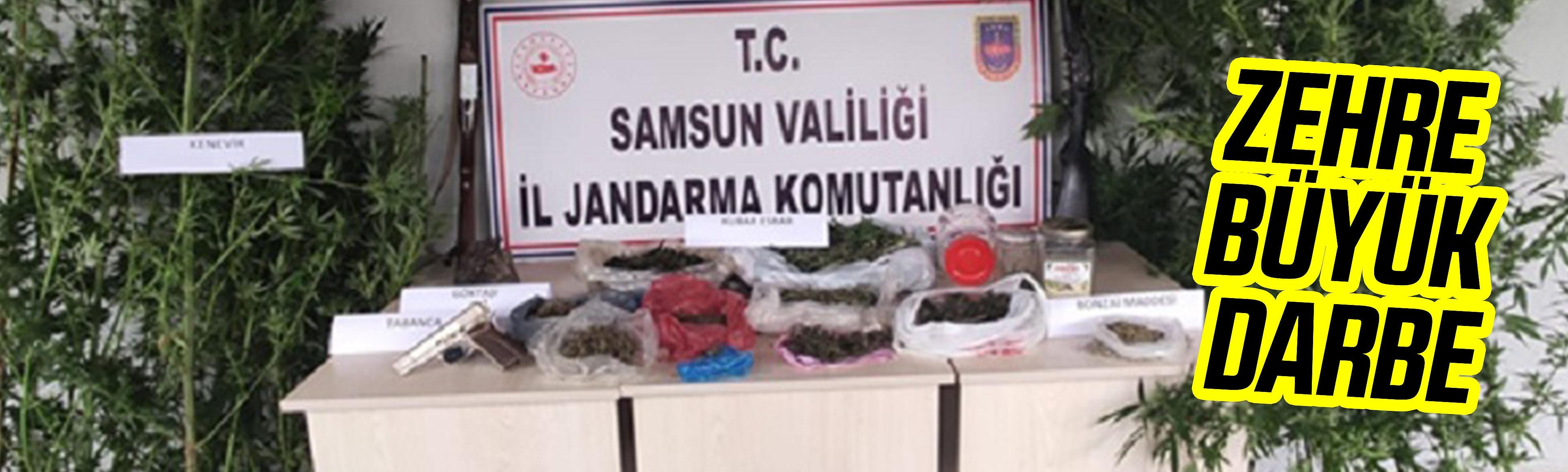 Uyuşturucudan 17 şüpheli yakalandı
