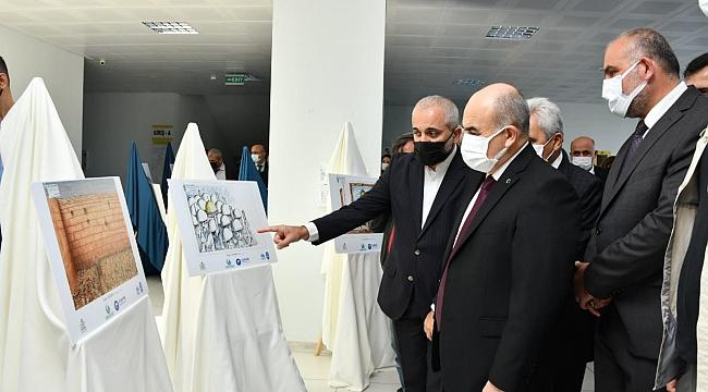 Canik'te 'Kudüs' sergisi açıldı