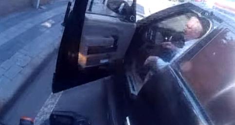 Aziz Yıldırım Trafikte Tartıştı