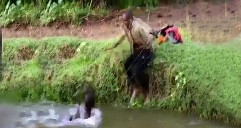 Balık tutan adamın aklı gitti