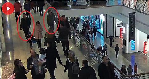 Telefon hırsızı güvenlik kamerasına yakalandı