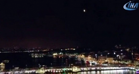 Kanlı Ay tutulması havadan görüntülendi