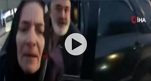 Şişli'de motosikletliye coplu saldırı kamerada